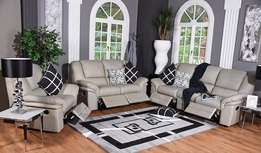 Portugal Recliner Lounge Suite ( Leather Upper )