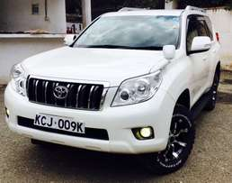 toyota prado premium edition new shape 2010 on offer 4,500,000/=