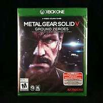 Xbox one game Metal gear solid V