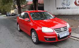 2008 vw jetta5 2.0 red colour