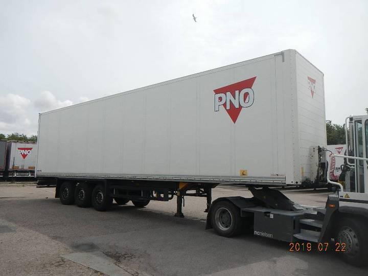 Schmitz Cargobull Skåp Med Inrikes Höjd / Box Domestic - Eaa 760 - 2014