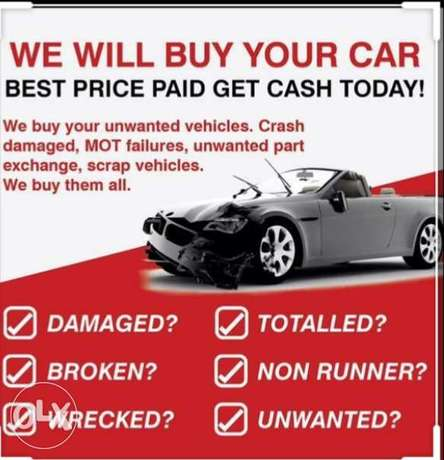 Get an Instant Online Offer for Your broken car