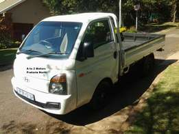 2015 Hyundai H100 2.6 D F/C D/S with the following km's 59577