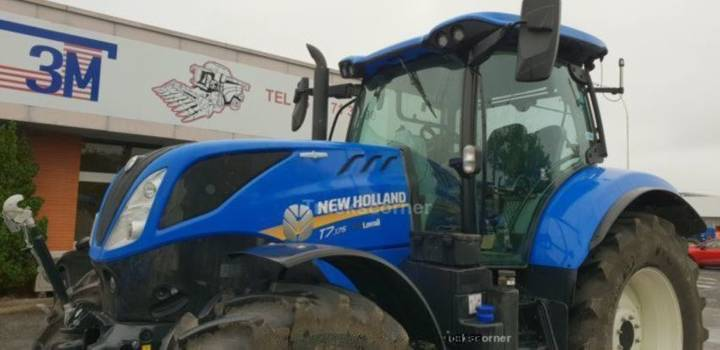 New Holland t7.175 auto command - 2018