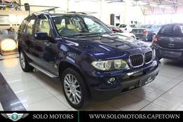 2006 BMW X5 3.0d Automatic SUV in Navy Blue with Beige Leather