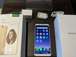 Brand New Oppo F5, 32GB ROM and 4GB RAM, instant Delivery!!