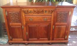 Walnut Sideboard - R5,500.00