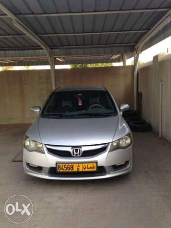 Honda Civic 2010 model , clean and company maintained