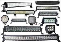 LED Bar Work Spot Light for Vehicles 4 x 4 Trucks