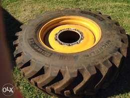 TLB tyre and rim