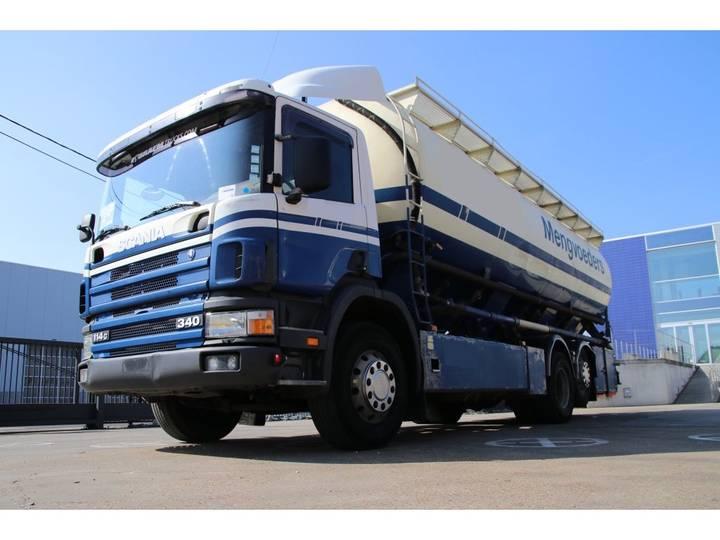Scania 114G 340 - 6x2- VEEVOEDER - 2001