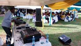 Sound for hire at 35000...Sound, Dj and MC