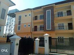nicely built 6 units of newly built 2 bedroom flat wit bq