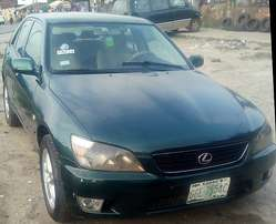 Registered Lexus IS (2002)