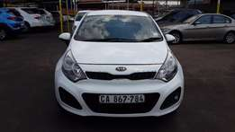 2013 White Kia Rio 1,4 Tec Auto for sale