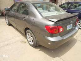 Registered 2005 toyota corolla for sale