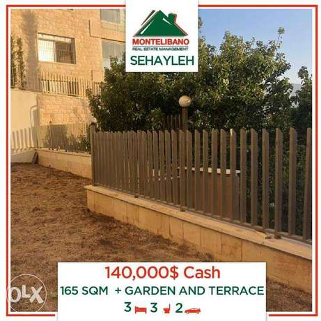 Apartment for sale in Sehayleh !With TERRACE and GARDEN!