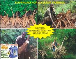 SuperGro Organic Liquid Fertilizer at Bonanza Price!!!