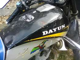 Dayun motorbike for sell