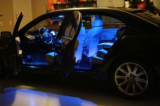 Oświetlenie Wnętrza Samochodu Taśma Led Rgb Pilot Warszawa