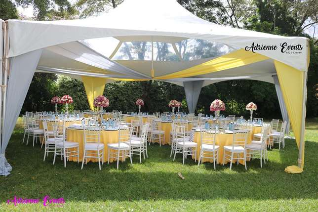 Hexagon tent, Foldable Chairs, Chiavari and Decor Services Westlands - image 4