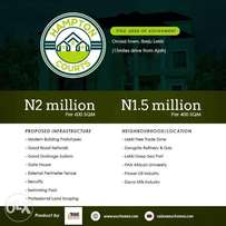 Plots of Land For sale at Hampton Courts, Ibeju Lekki
