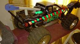 Rc nitro monster truck