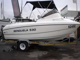 Benguela 530 F/C 'Cat with 2 x Yamaha 90HP(2-Stroke) Motors