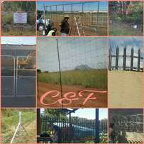 Fencing, Palisade, Electric Fence