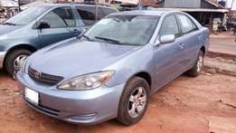 Toyota camry LE, Year : 2004, with factory AC, Alloyed rims, New Tyres