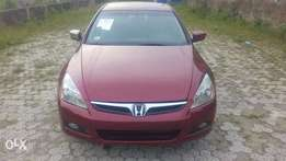 Honda accord 2007 tokunbo for fast sell