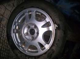 """Toyota 15"""" Mag + Tyre"""