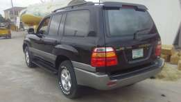 Very Good 2002 Land Cruiser