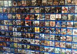 PS4 Games Collection Over 500 latest Games in stock