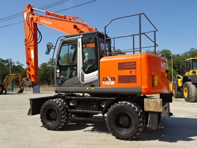 Hitachi Zx 140 W-3 - 2008