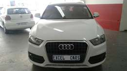 Used 2013 Audi Q3 2.0 TDI, leather seats selling for R230000