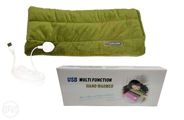 Multi Function Hand Warmer Throw for Hands Back Keep Warm مدفئة اليدين