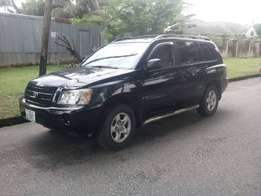 4 plugs Toyota Highlander 2004 at 2.4m