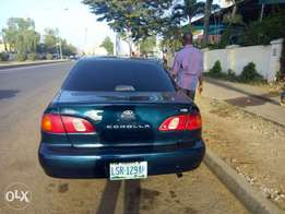 Very sound and clean Toyota corolla (Orobo)
