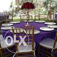 Rental table fabrics