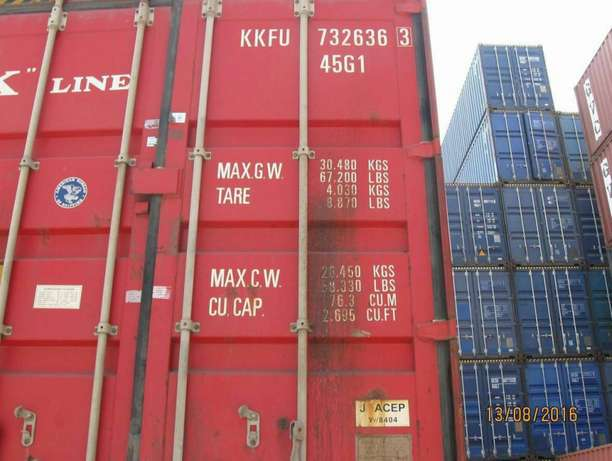 Cargo containers for sale with ready documents 40ft Mlolongo - image 1