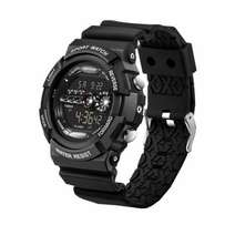 Sanda Luminous Sporty Mulfunctional Waterproof Watch