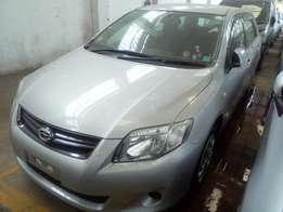 Silver 5 seater Toyota