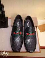 Gucci loafers.