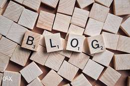 How to blog/Blogging