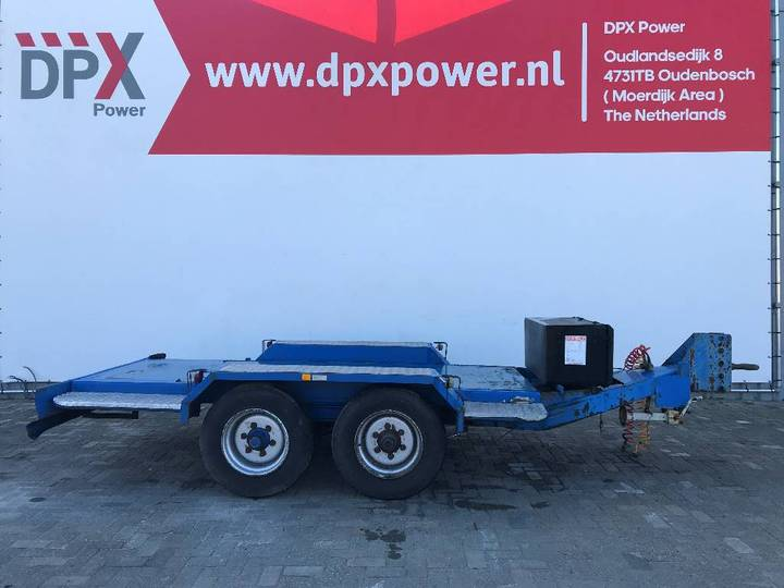Miloco Heavy 5 Ton used Trailer - DPX-99059 - 1993