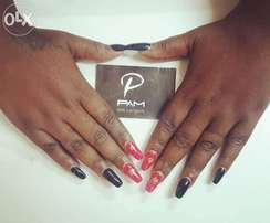 Gel Polish at only shs 1000.