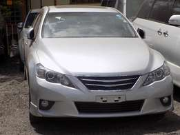 2010 Mark X,2500CC,DVD Player,Control Buttons at Steering,Sunproof