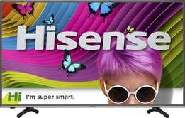 "Hisense 43"" Smart 4K ultra HD LED TV -Brand New"