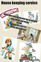 Profesinal house cleaning and garden services to rent.